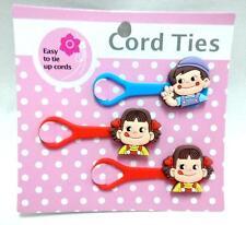milky peko poko cord ties set