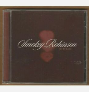 SMOKEY ROBINSON cd So In Love 2007 Universal NEW Sealed 6 Trax TARGET EXCLUSIVE