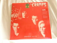 THE CRAMPS Gravest Hits limited numbered 150 gram RED vinyl SEALED LP