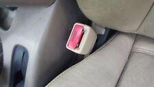 2002 NISSAN PATHFINDER LEFT DRIVER SIDE FRONT SEAT BELT BUCKLE TAN 2001-2004