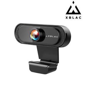 XBLAC 1080P FHD Webcam Microphone USB Camera Mac/PC Conference Meet Video Call