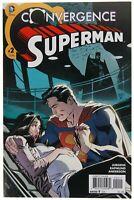 Convergence Superman 2 VF/NM to NM- range Jon Kent birth DC Comics 2015 Jurgens