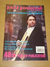 JAZZ JOURNAL INTERNATIONAL VOL 48 #10 1995 OCTOBER GUY BARKER HELEN MERRILL
