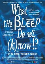 WHAT THE BLEEP DO WE KNOW!? Movie POSTER 11x17 French Marlee Matlin Elaine