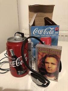 Vintage Akura Coca Cola Coke Can Personal Stereo Cassette Player