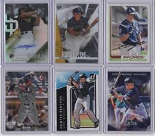 HUNTER RENFROE 2017 Topps Finest Firsts AUTO ROOKIE + (5) additional ROOKIES
