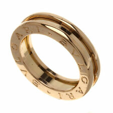 Bvlgari B zero pink gold ring 18ct
