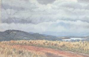 John Flexmore. Original Watercolour. A listed Australian artist.