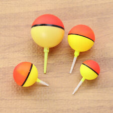 4pcs Creative Float Bobbers Fishing Round Buoys Fishing Bobbers for Fishing