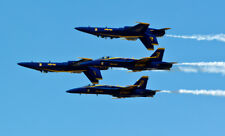 2017 8x10 Photo Navy Blue Angels F/A18 Hornet Jets Fighters Lakeland Florida 5