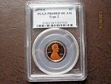 1979 S Type 2 PROOF LINCOLN MEMORIAL CENT PCGS PR68RD DCAM
