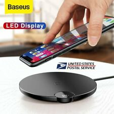 Baseus 10W Qi Wireless Charger Pad Charging Mat for iPhone XS Max Samsung S10