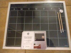 chalkboard calendar brand New.