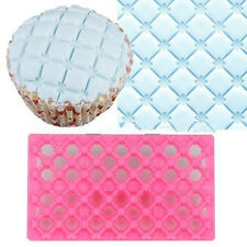 Flower Quilting Embosser Mold Cake Fondant Icing Cutter Decorating Tools New