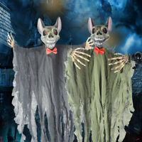 Sound Animated Ghost Vampire Scary Props Halloween Decorations Outdoor