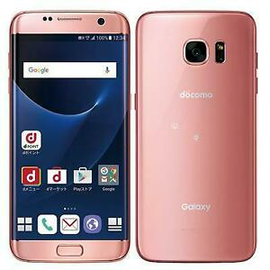 Used SAMSUNG SC-02H GALAXY S7 EDGE Android Smartphone Unlocked PINK JAPAN F/S