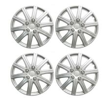"Wheel Trims 15"" VAUXHALL CORSA D 2006- Set 4 Covers + Valve Caps & Ties"