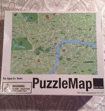Design Ideas 2011 - Puzzle Map London Jigsaw Puzzle 1000 Pieces