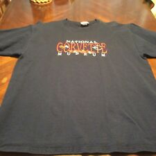 Nice embroidered National Corvette Museum Tshirt Size L by Top Threads Mens