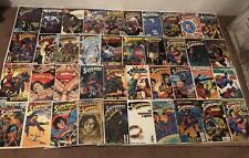 Lot Of 40 Superman DC Comics Comic Books ~ Low Grade Lot ~ Various Years/Titles