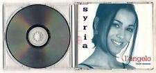 Cds SYRIA L'angelo – OTTIMO 1997 PROMO cd singolo