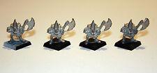Set di 4 identiche Night Goblins con assi-Superbo tutti ancora con Flash Originale