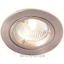 Brushed Chrome GU10 Spot Down Light made by BELL £4.29