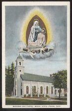 Postcard FRANK Ohio/OH  Madonna & Catholic Chapel view 1910's