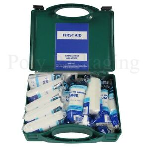 1 x 1-10 person HSE APPROVED FIRST AID KIT for Work/Office/Home/Caravan Kits
