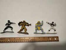 Power Rangers Figure Set - Black Ranger, White Ranger, Goldar, And Sphinx