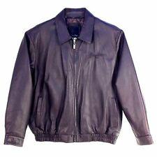 Sean John, Men  Leather Bomber Jacket, SJ Q07282 TOKYO ROAD