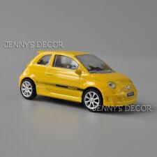 Mondo Motors 1:43 Scale Diecast Car Model Toys Abarth 500 Replica