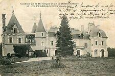 Carte SAINT MATHIEU Château Rocher Façade Nord Haute Vienne