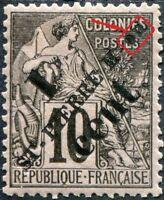 """COLONIES SAINT-PIERRE-et-MIQUELON N° 36 NEUF* Variété """"o ET n ESPACÉS"""""""