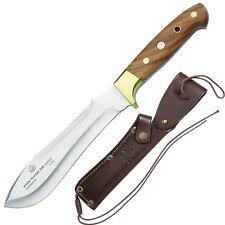 PUMA IP Coltello da caccia WHITE Hunter 240, olive legno, BN pelle Schelda