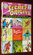 Secret Origins #1 1961 Wonder Woman, Flash, Green Lantern, Batman, Superman