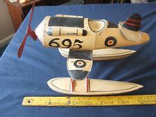 Toy Seaplane Vintage Toy