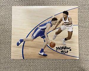 EXACT PROOF! MATTHEW HURT Duke Basketball Signed Autographed 8x10 Photo