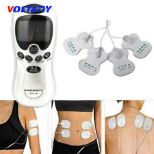 4 Pad Pulse Tens Machine Therapy Body Massager Pain Relief acupuncture Back New