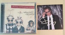 Rick Springfield - Rocket Science Cd & Signed Autographed Card