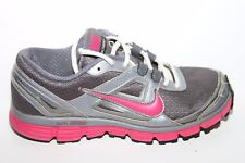 Women's Nike Dual Fusion Run ST Shoes SZ 7 USED 407847-003 Dark GreyPink