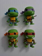 Funko Pop! Vin Teenage Mutant Ninja Turtles TMNT Set Of 4 Vaulted
