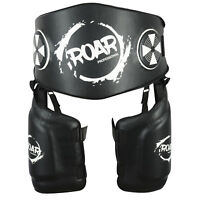 ROAR MMA Thigh Pad Leg Protector Guard Kickboxing Belly Pad UFC Training Gear