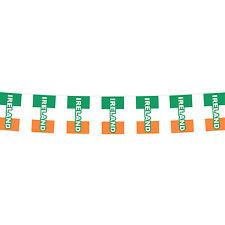 St Patricks Paddy's Day Party Celebration Ireland Mini Bunting - 12 meters