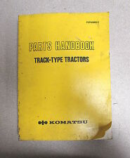 Komatsu Track-Type Tractors Parts Manual Handbook PEPH0002-1 1983