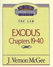 Exodus : Chapters 19-40 by J. Vernon McGee