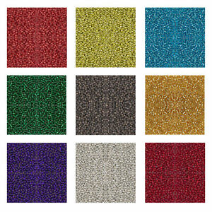 Miyuki Japanese Seed Beads Round Rocailles Duracoat, Silver Lined Colors