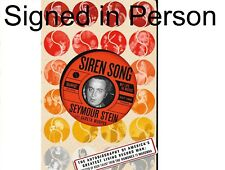SIGNED Siren Song My Life in Music by Seymour Stein, autographed, new