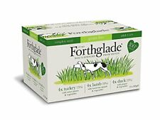 Forthglade 100 Natural Grain Free Complete Meal Meat Selection Dog Pet Food Mul