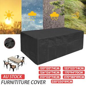 Waterproof Outdoor Furniture Cover Garden Patio Rain UV Table Protector Sofa